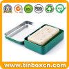 Rechteckiger eingehängter Seifen-Metallzinn-Kasten für das kosmetische Verpacken