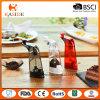 Moinho de pimenta acrílico entregue de sal com função clara