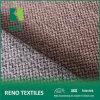 Ткань 100% затыловки материала софы драпирования полиэфира поддельный Linen