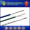 Alambre UL3074 silicona aislante de fibra de Galss Braid