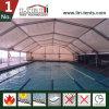 수영풀을%s 15m 고도 다각형 스포츠 천막 방화 효력이 있는 움직일 수 있는 임시 경기장