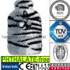 Coperchio caldo della bottiglia di acqua della zebra del leopardo della pelliccia del Faux della peluche del CE