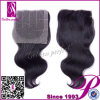 Chiusura completa di separazione del merletto  tre reali di X 13  dei capelli umani 4 di 100%