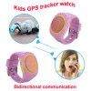 La manera embroma el reloj del perseguidor del GPS con el podómetro para la persona (D12)