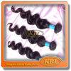 A extensão brasileira do cabelo de Kbl é cabelo humano