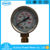 1.5 manomètre d'indicateur de pression d'acier inoxydable de pouce 40mm