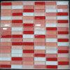 fabricante de azulejos de mosaico de vidrio de cristal decorativo chino