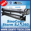 Dx7 Eco Solvent Digital Printer Sinocolor Sj-1260, con Epson Dx7 Head, Max. 2880dpi