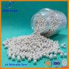 Bereich des Molekularsieb-13X (Zeolithkugel) mit hochwertigem