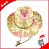 Sombrero de vaquero de la impresión. Sombrero de la mujer