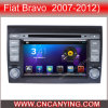 Reprodutor de DVD do carro para o reprodutor de DVD de Pure Android 4.4 Car com A9 o processador central Capacitive Touch Screen GPS Bluetooth para o bravo de FIAT (AD-7000)