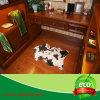Черный половик ковра шерсти картины коровы для живущий комнаты