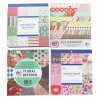 Personalizzare il pacchetto di carta del documento di /Decorative DIY 12X12 Scrapbooking dell'album di stampa 6X6 ""