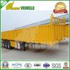 半40FTユーティリティ3車軸側面の貨物トレーラー