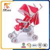 Ursprüngliche rote Farbe stellen Kabinendach-Eisen-Rahmen-Baby-Spaziergänger ein