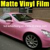 Пленка винила цвета тела автомобиля Matt розовая изменяя