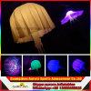 방수 튼튼한 백색 팽창식 LED 점화 해파리 훈장