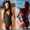 Einteiliger reizvoller Bikini mit Reißverschluss