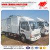 Conducción a la derecha 140HP 4X2 Van Cargo Truck de JAC