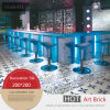 Blaue Mittelmeerart Verglasung Wand-Fliese des Porzellan-Tile20*20cm
