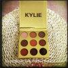 Eyeshadow Pallette Pallette тени глаза цветов Kylie Kyshadow 9 нового прибытия золотистый