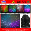 RGB 15kpss DMX Animation Mini, das Laser Disco Light Verschiebt-Head