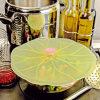 Coperchi del silicone, coperchi del rilievo di giglio, coperchi del rilievo di giglio dell'alimento del silicone