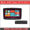 GPSのBezn a/B Class 2012-2013年、Bluetoothのための特別なCar DVD Player。 (CY-9317)