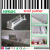Shelf di plastica Pusher per Cigarette