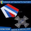 Medaglia all'ingrosso del premio del metallo di placcatura dell'oggetto d'antiquariato di alta qualità