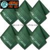 Tissu en verre de nettoyage de Microfiber avec le logo estampé