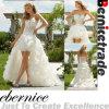 象牙はこんにちはLoウェディングドレスの花嫁衣装を見通す