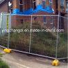 2.1X2.4m Powder Coating Safety Portable Temporary Fence für Baustellen