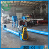 Edelstahl-Abdachungs-Schrauben-Förderanlage für Nahrung/flexible Kleber-Spirale/Salz/Baumaterialien/Metallurgie/Kohle