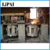 Horno fusorio de aluminio de acero de cobre de la calefacción de inducción de Kgps frecuencia intermedia