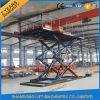 plate-forme de case hydraulique de levage de véhicule de ciseaux de 3t 5m à vendre