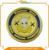 Монетка конструкции клиента с покрынной латунью