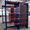 Tipo de placa cambiador de calor con el acero inoxidable 304/316L placas del espesor de 0.5m m y de 0.6m m