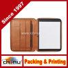 행정상 Zippered Portfolio - Cognac Leather (갈색) - Full Grain Leather (520089)