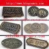 袋のための金属の名札のドッグタッグの金属のロゴの札