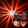 DJ/Disco RGBW LED 이동하는 맨 위 광속 마술 꽃 빛