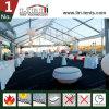 15X35m党およびイベントのためのアルミニウムフレームのゆとりのスパンの玄関ひさしのテント