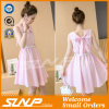 Soem-Qualitäts-Streifen-Frauen-Kleidung-Form-Kleid/Fußleiste