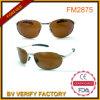 FM2875 몰기를 위한 노란 렌즈 조종사 금속 색안경