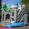 Jogo inflável do Bouncer - castelo combinado Bouncy do dragão