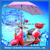 Sun e Rain Shade Waterproof & Windproof Electrombile o Motorcycle Umbrella