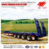 4 Axles 80 низкого кровати тонн трейлера Semi, трейлера тележки Lowbed