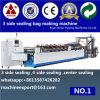Saco de vácuo lateral da selagem 4 que faz máquina o pano ensacar a fatura da máquina