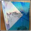Luz de Yiwu - película de envolvimento lustrosa azul do laser da cor 50*70cm (HD-Y0010)