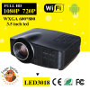 3 0 0:1 Contrast Ratio TV Projector 1080P 800*600 Support 720p/1080P TV DEL Projector